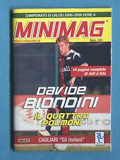 MINIMAG 2008-2009 N. 033 - DAVIDE BIONDINI - CAGLIARI