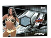 WWE Naomi 2016 Topps Divas Revolution Event Used Mat Relic Card SN 4 of 199