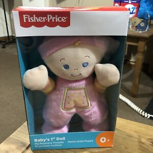 FISHER PRICE BABY'S TOYS NEW/ FIRST DOLL - Soft Cuddling FOR GIRLS AND BOY BNIB