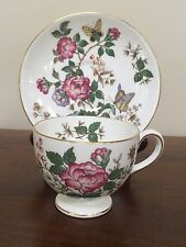 Wedgwood CHARNWOOD Bone China Leigh Shaped Footed Cup & Saucer