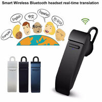 Wireless Bluetooth Earphone Instant Translator 16 Languages Intelligent Headset