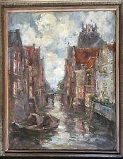 Gorgeous, Anna DE BARSY (1878-1949) Belgian painter - Oil on canvas - Channel
