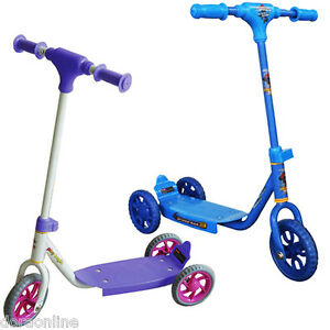 Kids Children Toddler Scooter 3 Wheels Push Kick Ride-On Toys Pink/Purple