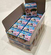 One Piece Ocean Blue Chibi Bandai box 10pz Luffy Ace Zoro Marco Mihawk aperto