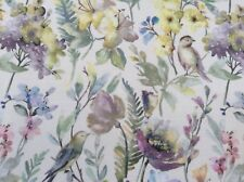 Oilcloth Fabric, PVC Coated, Spring Meadow Design, Matt Coated, Per Meter