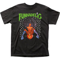 Funkadelic Afro Girl T Shirt Mens Licensed Rock N Roll Music Band Tee New Black