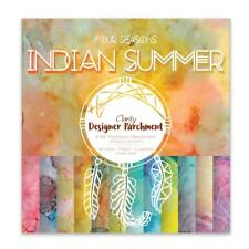 """Clarity Stamp FOUR SEASONS Indian Summer 8"""" PARCHMENT PAPER 48 x 140gsm 30525"""