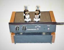 McAlister Audio PH-8 MM/MC tube phono preamplifier turntable cartridge tonearm