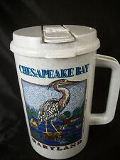 Thermo Travel mug 32 oz. Chesapeake Bay Maryland Father's Day gift camping fish