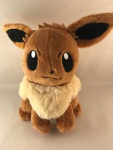 AUTHENTIC Japanese Eevee Plush from Takara Tomy Japan - Pokemon Stuffed Toy