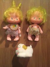 Vintage Strawberry Shortcake Doll LEM N ADA Original Sucre woffer Jouet pour chien figure