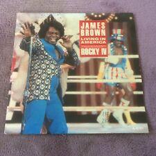 "Vinyle 45T James Brown   ""Living in America - Rocky IV"" (b3)"