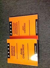 2000 JEEP CHEROKEE Service Repair Shop Manual Set W Powertrain Diagnostic Book