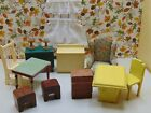Mainly+KAGE+DOLLHOUSE+FURNITURE+LOT+%2B+Some+Other+Old+Miniature+Furniture+%2AD31+