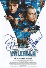 Dane DeHaan/Luc Besson Signed Valerian 12x8 Photo AFTAL