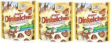 3x Dr. Quendt Original Dinkelchen Vollmilch  Knuspergebäck 32% Dinkel 255g