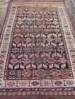 """Antique 1850s Tribal Qashqaii Hand knotted Wool Oriental Rug  5'6"""" x 10'4"""""""