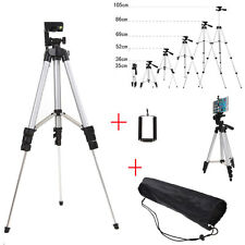 Professional Smart Phone Camera Tripod Stand Mount Holder+Bag for iPhone Samsung