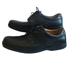 CLARKS MENS LACE UP SHOES COMFORT SMART WORK LEISURE BLACK COLOUR Size UK 10.5