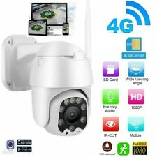 Telecamera motorizzata IP cam Wifi 5MPX Zoom 5x Sim Card 4G 3G GSM Slot SD 4mm