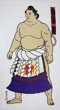 Sumo Wrestler bath towel Hakuho Yokozuna Grand champion famous Rikishi F/S