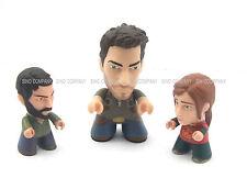 Hot Sale 3pcs Toys The Last Of Us Titans Vinyl Figures Joel Ellie Nathan Drake