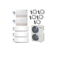 Klimaire 48000 BTU 5-Zone Ductless Mini-Split 21 Seer AC Heat Pump 12000 BTU X 5