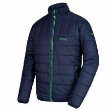 Regatta Mens Icebound Padded Soft Insulated Warm Lightweight Hiking Jacket Navy