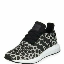 Adidas Women's Swift Run Leopard Print Sneaker Shoe New in Box Size 6.5
