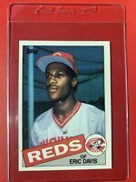 1985 Topps Eric Davis ROOKIE RC #627 Cincinnati Reds