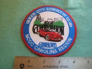 NCCC 1991 Queen City Corvette Club Carolina Region  Patch