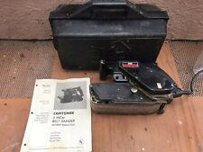 """CRAFTSMAN. 3"""". BELT SANDER IN PLASTIC CARRYING CASE Model. 315.11721"""