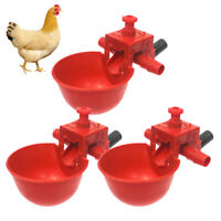 20PCS Pigeon Drinking Bowl Adjustable Automatic Drinking Bowl for Chicken Quail