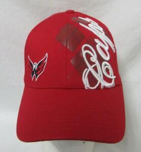New Era 39Thirty Washington Capitals Mens S/M or L/XL Baseball Cap Hat E1 662