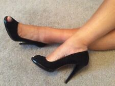 Hobbs Black Suede Leather Court Size 6 EUR 39