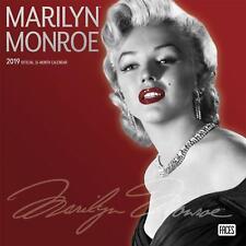 Marilyn Monroe Kalender 2019- Wandkalender - 16 Monate englisch - 30 x 30 cm NEU