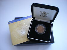 2002 Royal Nuovo di zecca in oro proof Sovereign Regno Unito-con box & COA