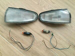 NissaN Oem s14 240sx 95 Zenki L R SET Corner Signal Light 200sx JDM USDM EUDM