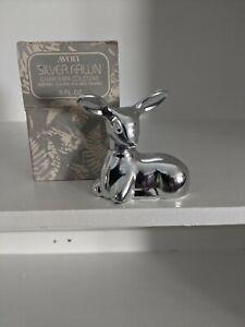 Vintage Avon Silver Fawn Charisma Cologne