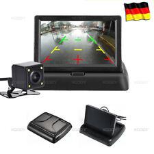 Rückfahrkamera Autokamera mit 4.3'' LCD Monitor System Einparkhilfe Nachtsicht