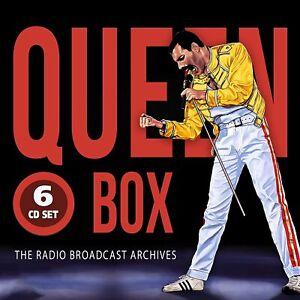 Queen Box The Radio Broadcast Archives 6 CD Nuovo & Sigillato