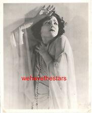 VINTAGE Norma Talmadge DRAMATIC 20s LB Publicity Portrait