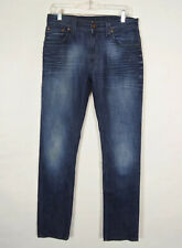 Nudie Thin Finn Slim Fit Faded Wash Jeans Mens Size 31x32