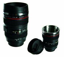 , Adults Novelty Camera Lens Coffee/Tea/Drink Quality Travel Mug