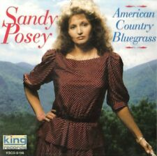 American Country Bluegrass - Sandy Posey (2003, CD NIEUW)