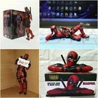 Desk Decoration Deadpool Car Home Office 8cm MINI-FIG Figure Marvel Super Hero