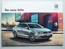 Prospekt Volkswagen VW Jetta zur Premiere, 7.2014, 20 Seiten