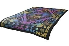 Tie-Dye Universe Mandala Tapestry Bohemian Wall Hanging Throw Dorm Decor
