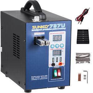 SUNKKO 737U Battery Pulse Spot Welder 2.8KW for 18650 +USB Battery 50 - 800A