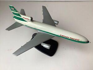 Vint Air Jet Advance Cathay Pacific Lockheed 1011 Tristar Airplane Desktop Model